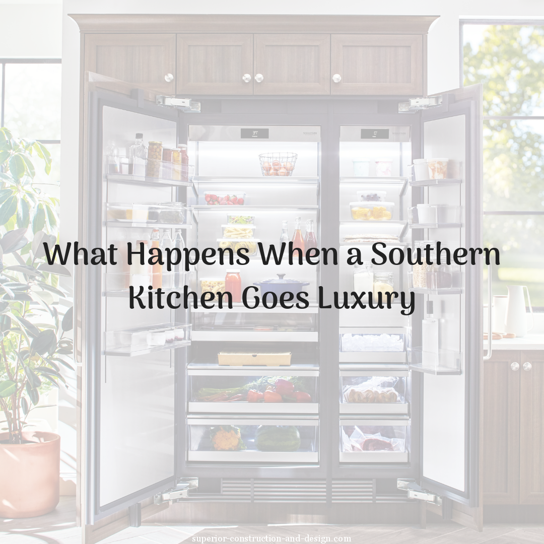 What Happens When a Southern Kitchen Goes Luxury