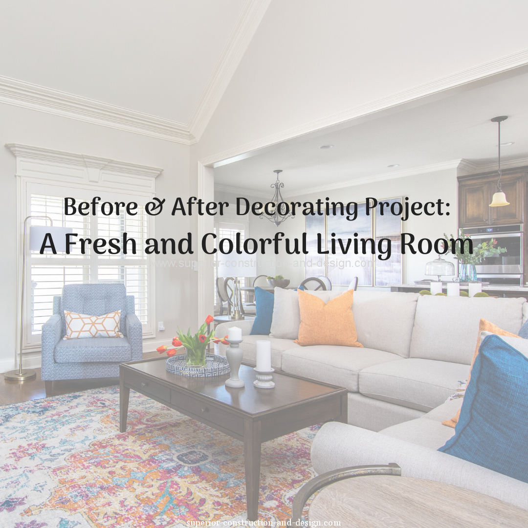 before after decorating project fresh colorful living room mt juliet
