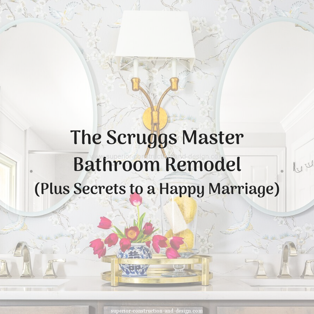 superior construction and design blog post master bathroom remodel before after tn classic design