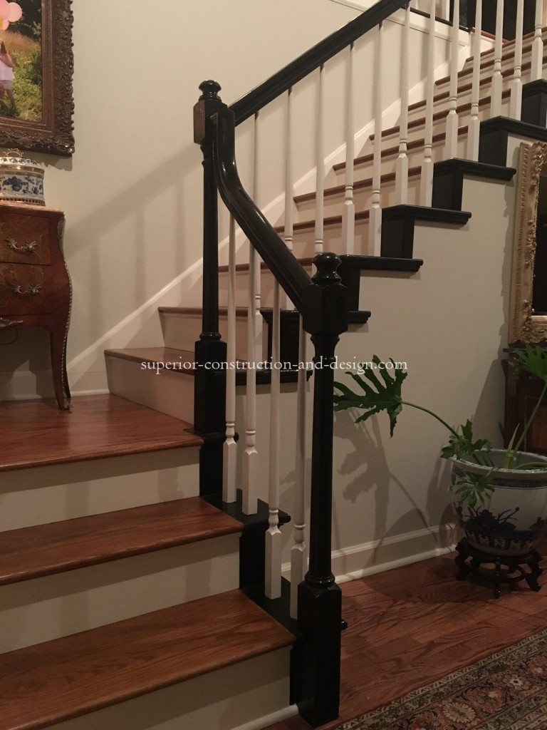 staircase update Superior Construction and Design