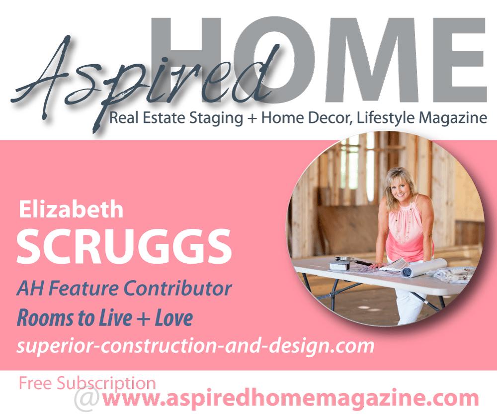 Aspired Home Magazine, Elizabeth Scruggs Lebanon Tn