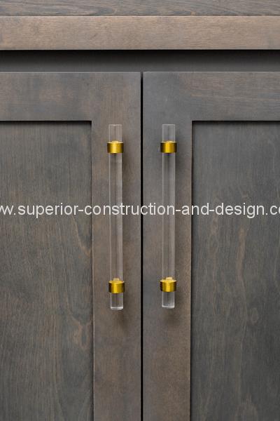 drawer hardware details brushed brass gorgeous design geometric elegant