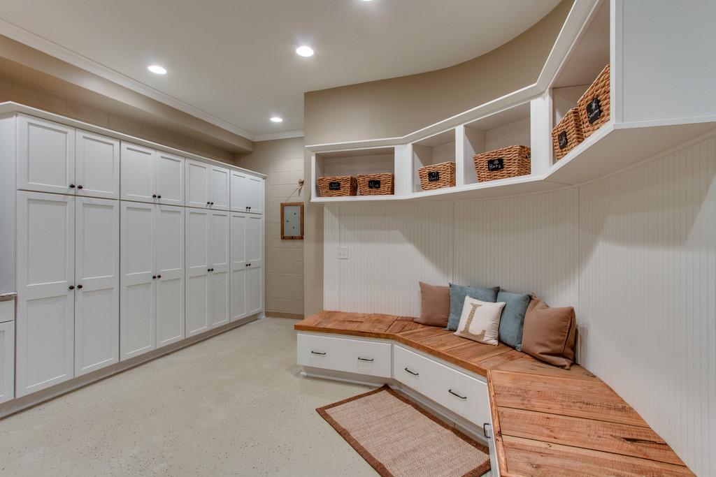 Mud Room for a Family Farm | Superior Construction & Design