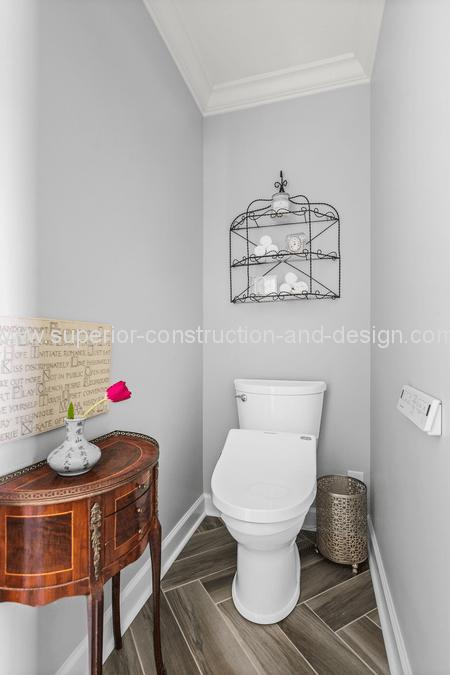 master bathroom american standard bidet wood tile floors