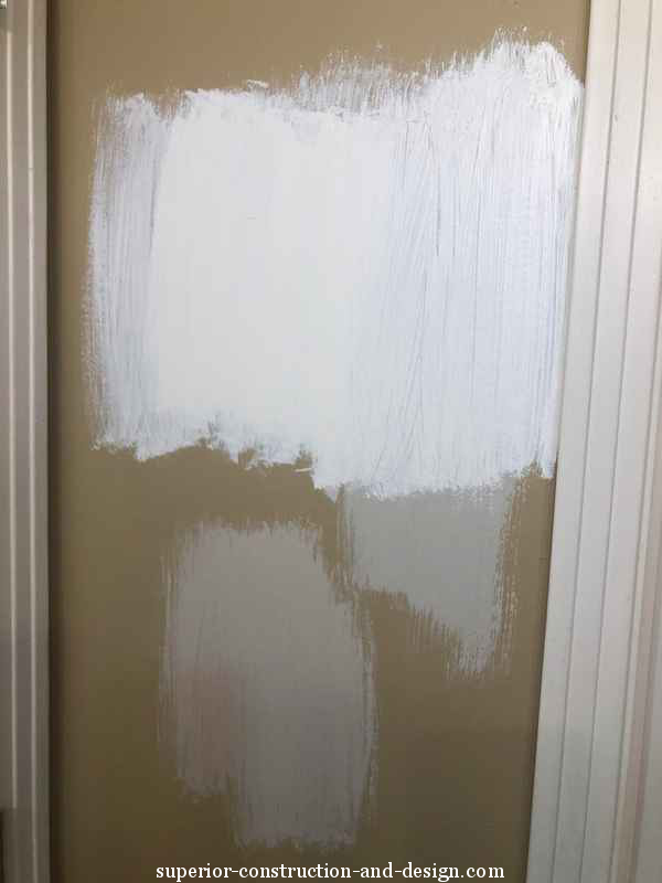 how NOT to test colors on a wall color constulation how to choose paint swatches