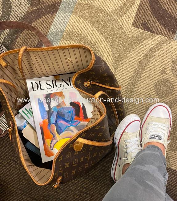 photo louis vuitton bag sneakers designers magazine