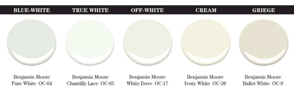 white undertones blue true offwhite cream greige how to tell side by side color