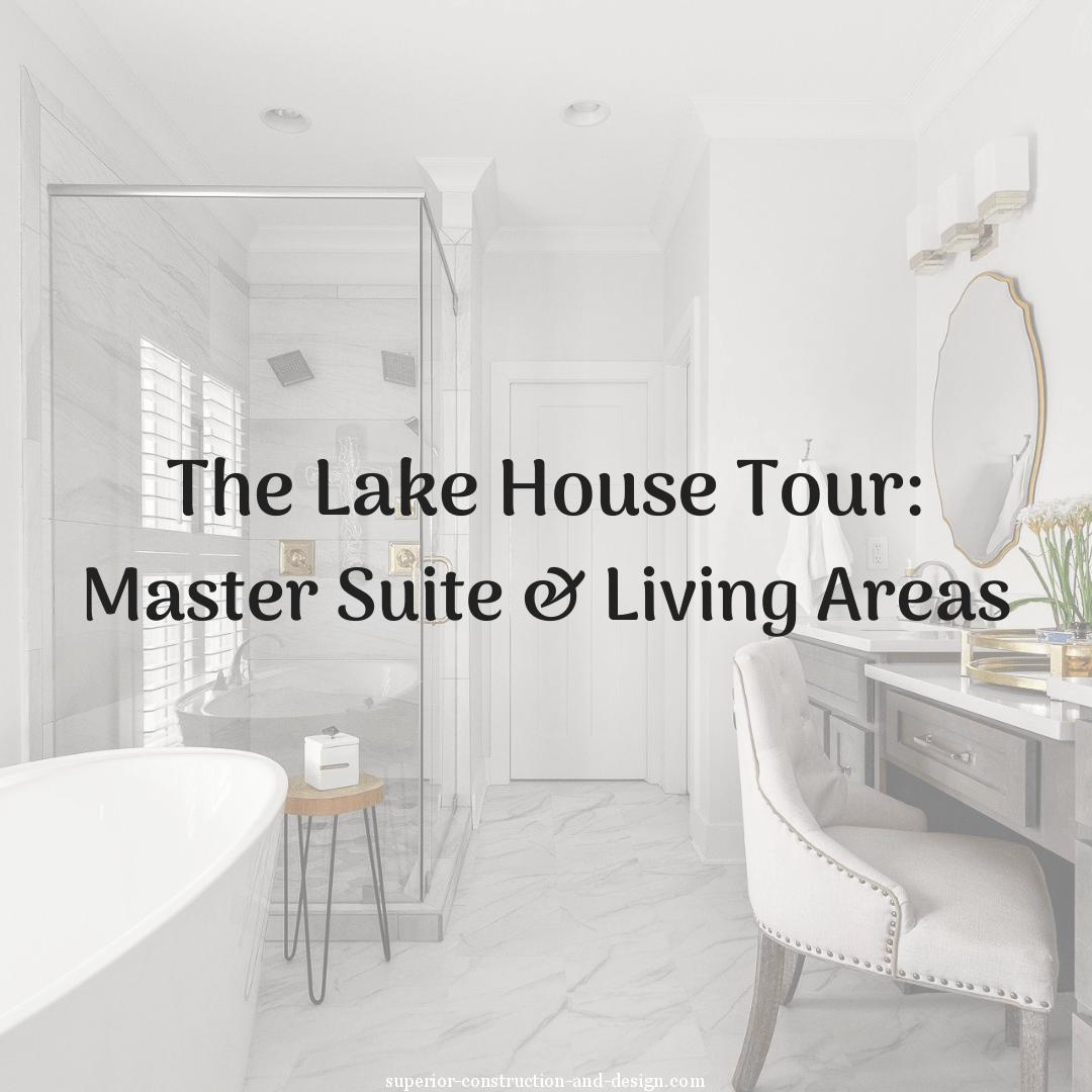 Superior Construction & Design lake house tour new build tennessee mt juliet lebanon