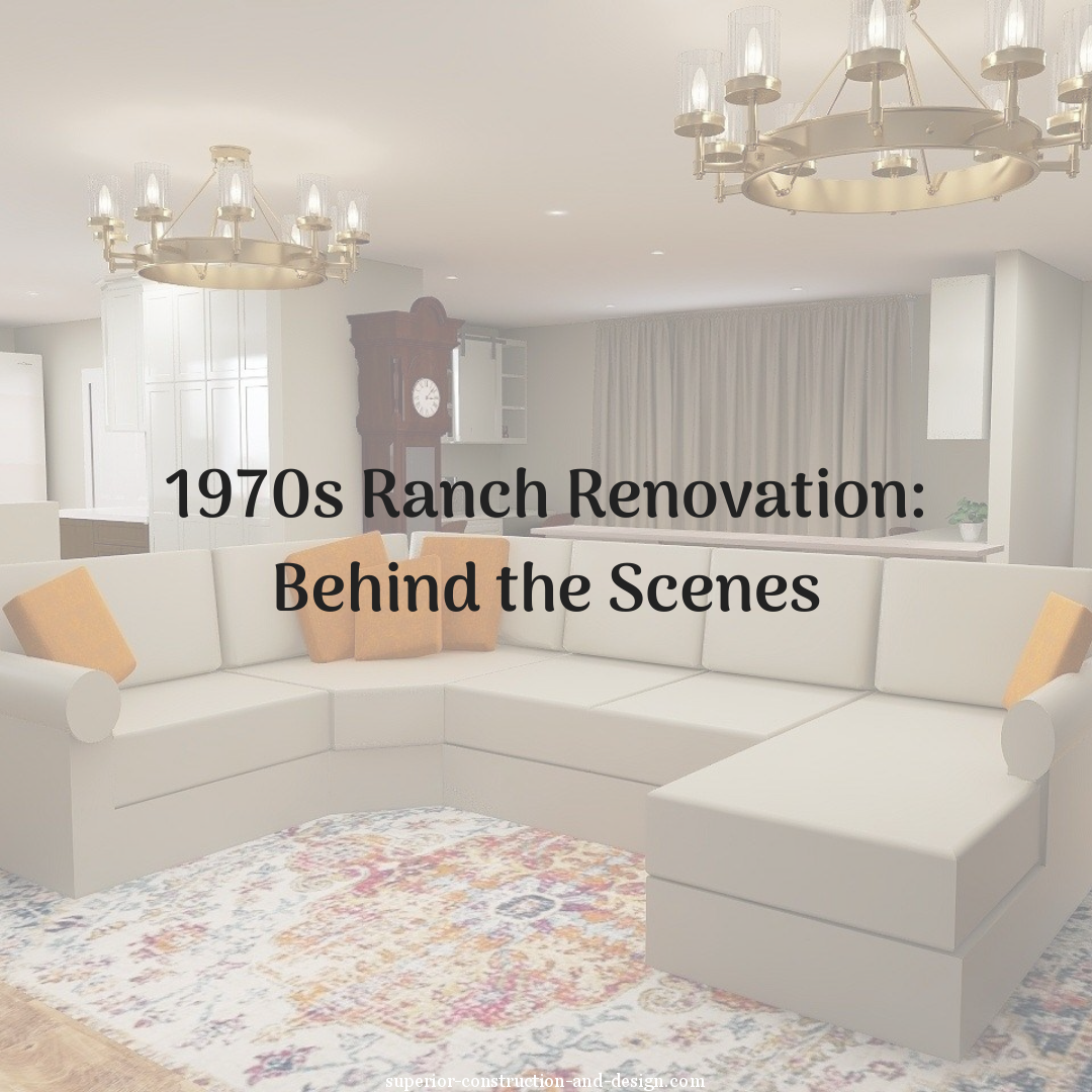 1970s ranch renovation project preview design concept inspiration superior construction design