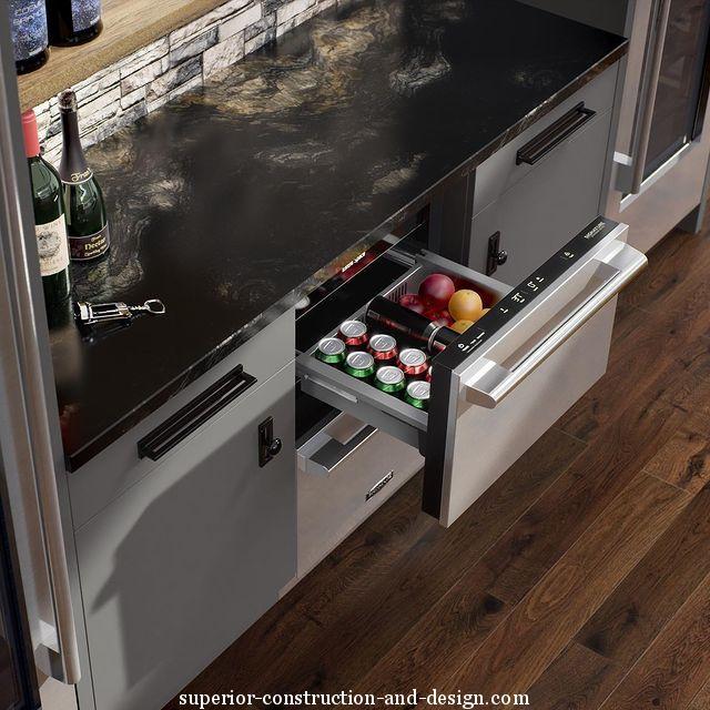 Signature Kitchen Suite 2 drawer under counter refrigerator