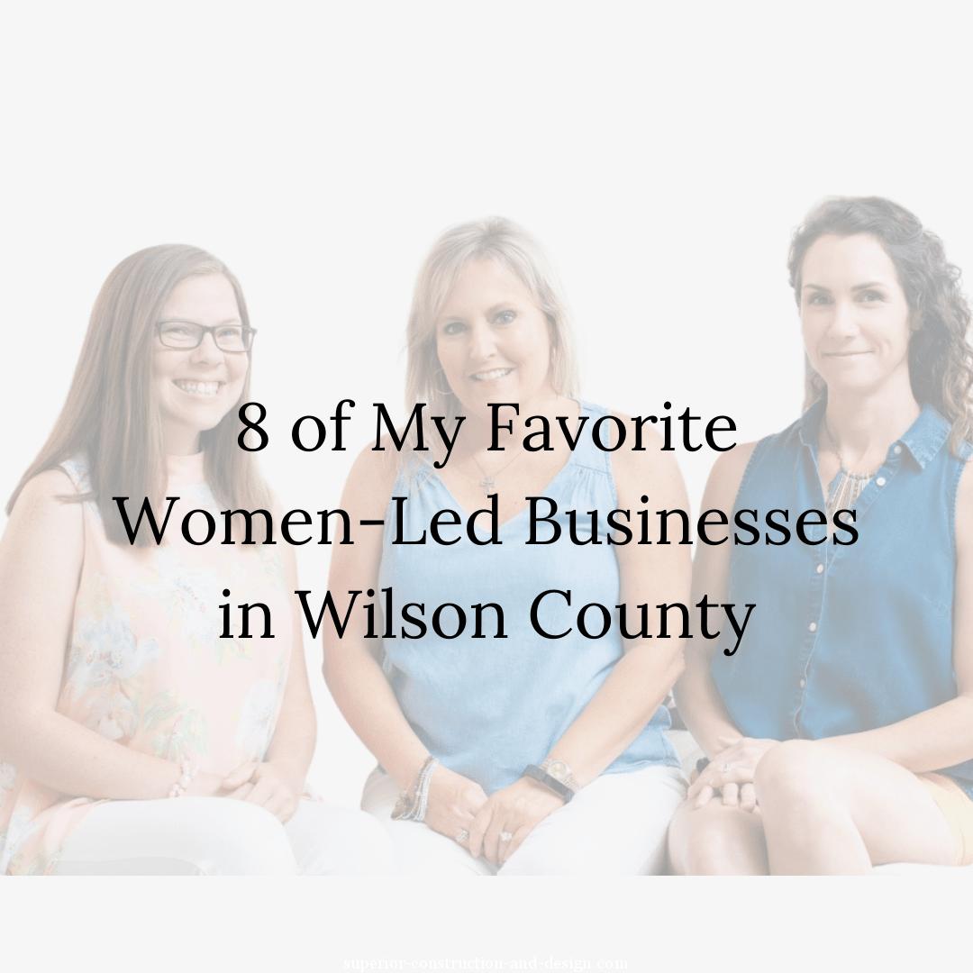 women run businesses in lebanon wilson county tn